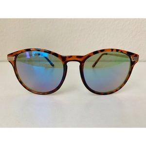 H&M Blue Tinted/Tortoise Shell Sunglasses